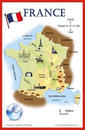 French Language School Poster -
