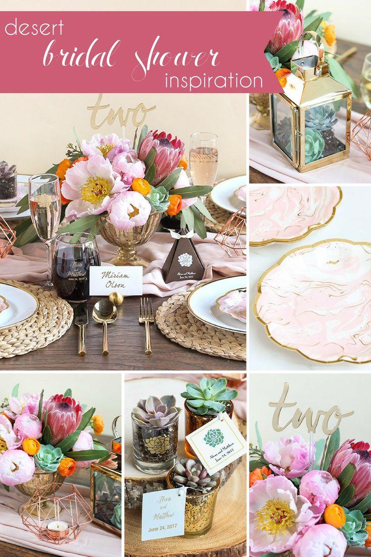 bridal shower themes for spring%0A Desert Bridal Shower Inspiration