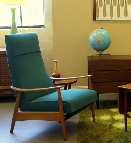 Mid Century Modern Milo Baughman Recliner. Repinned by Secret Design Studio, Melbourne. www.secretdesignstudio.com