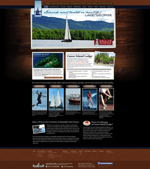 8 best hotel resort web designs images on pinterest for Top hospitality architecture firms