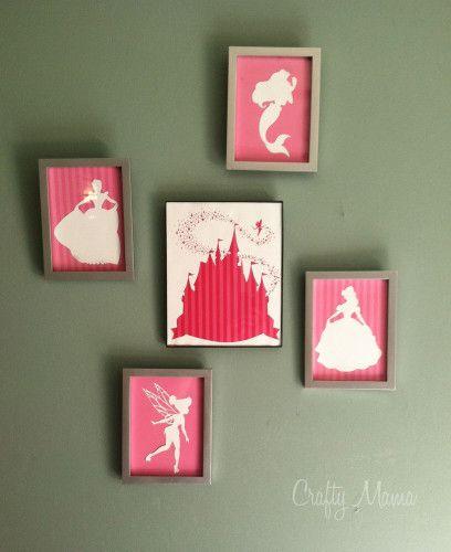 Disney Princess Wall Art – FREE DOWNLOAD! | :) Crafty Mama