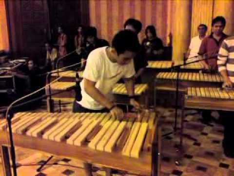 Kolintang (Bamboo Musical Instrument) from Minahasa,  North Sulawesi, Indonesia
