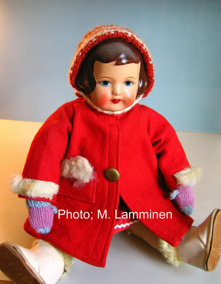 Composition head Martha doll. Not marked