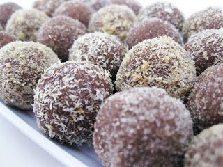 Nutella booze balls. Just like their inspiration, the rum ball, Nutella booze balls require no cooking. These little goodies will keep your holiday merry and bright. -oh, these will be dangerous!