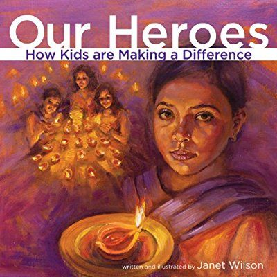 Wilson, J. (2014). Our Heroes: How Kids are Making a Difference. Toronto, Ontario, Canada: Second Story Press. In this nonfiction book there are many different articles telling stories of how children from around the world are making differences in their community. A number of the children are volunteering their time to help people in their community who are hungry. This book allows students to see that any one can make a difference no matter their gender, age, or race.  Grades 3-8