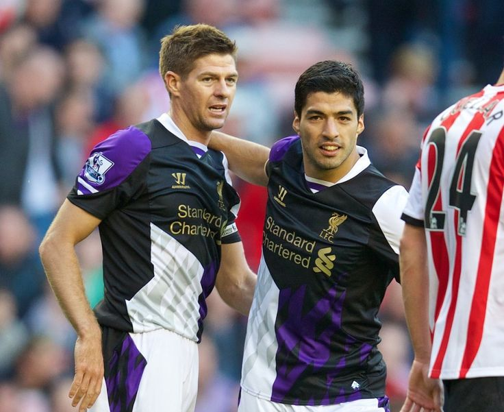 """Steven Gerrard hails """"absolute genius"""" Luis Suarez #LFC"""