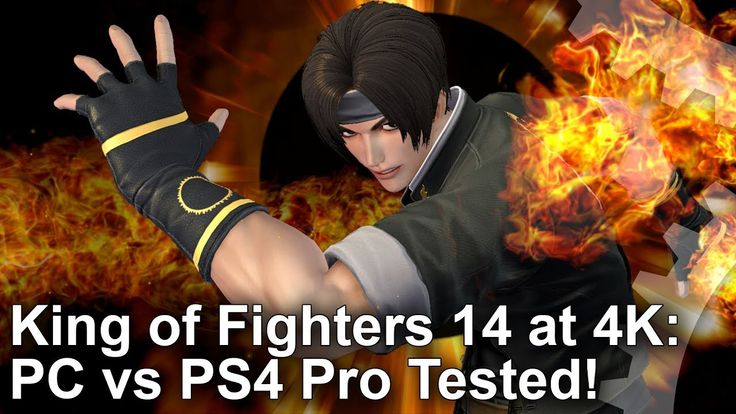 [4K] King of Fighters 14 PC vs PS4 Pro Graphics Comparison  Benchmarks