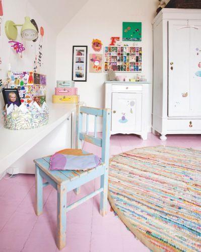 Pink floor is cool