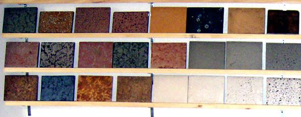 Choices of countertops, strengths and weaknesses