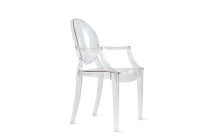 1000 ideas about ghost chairs on pinterest plastic chairs chairs and phil - Chaise transparente starck ...