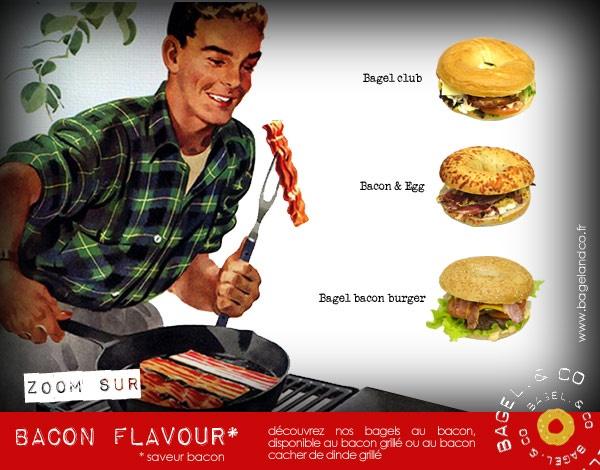 Livraison bagel, salades, hotdog, soupes maison - Bagel and Co