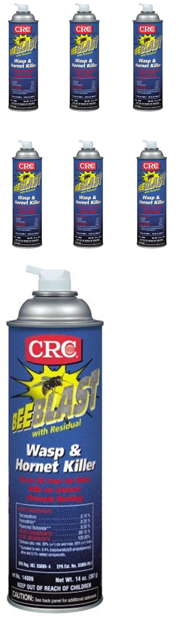 Insect Nets and Repellents 65965: Crc - Bee Blast W Residual Wasp And Hornet Killer Spray, Aerosol 20 Oz - 6 Pack -> BUY IT NOW ONLY: $61.53 on eBay!