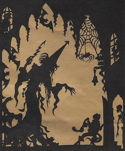 """Lotte Reiniger's """"prince achmed"""""""