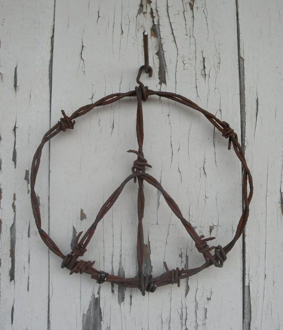 Barbed Wire Art by SouthwindCrafts on Etsy