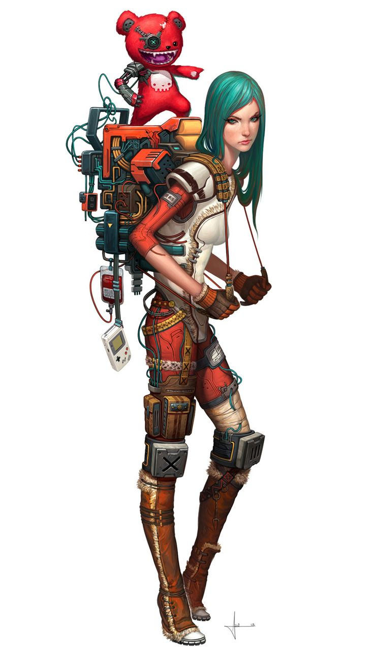 Stormette. Nickname: Steamgirl. She's a Hard-Headed girl who doesn't have many friends. She has a Mechanical Red Teddy Bear named Boss. He orders her around but since she doesn't take crap from anyone, they always end up fighting. She's a Junior in Redbay Chime School.