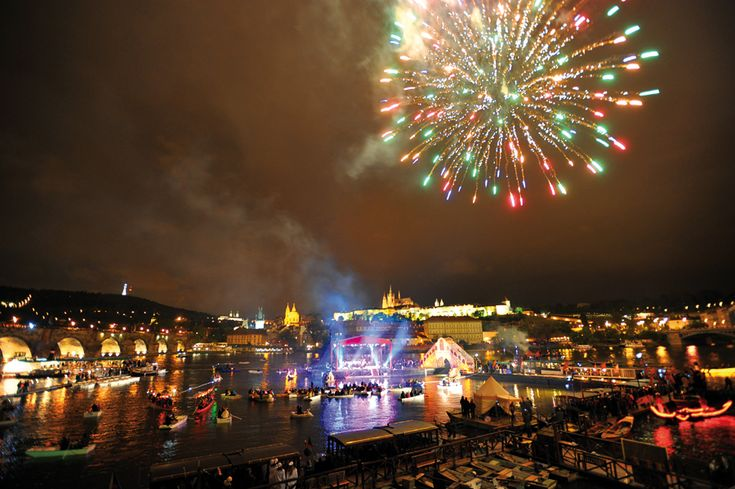 The biggest Baroque celebrations on the water at Charles Bridge in Prague following a three-hundred year tradition. Every year on May 15th