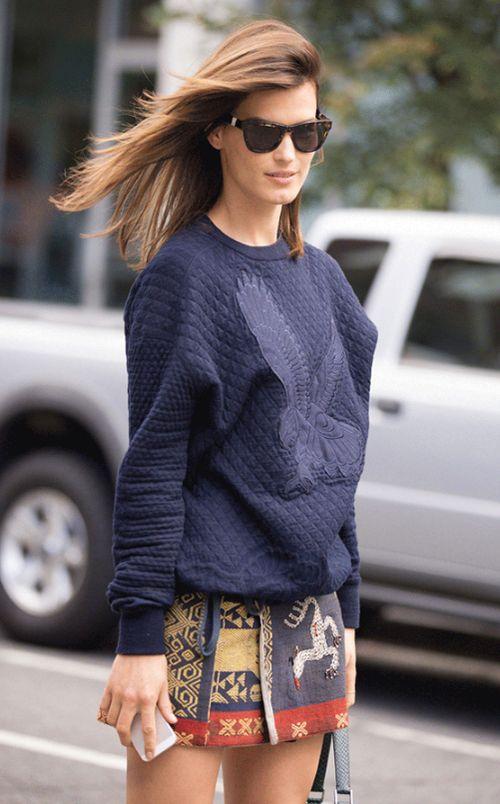 CuteShirt And Mini Skirt