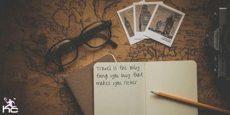 I soldi spesi per #viaggiare non sono mai buttati!