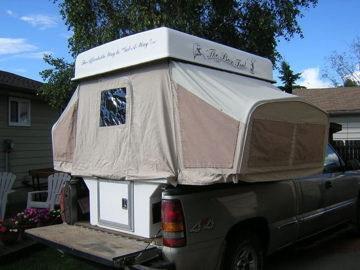 Drawnings Pickup Truck Bed Pop Up Camper Camping Tents