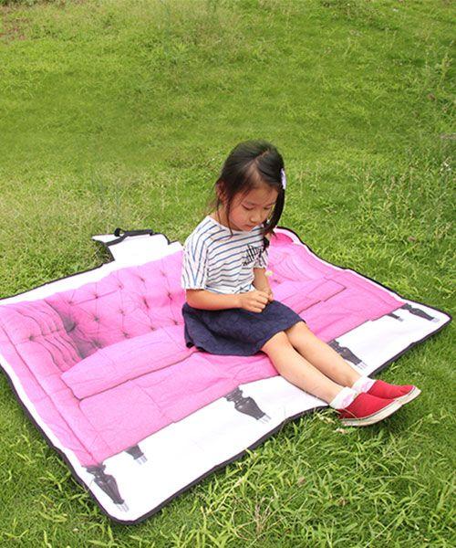 ピクニックマット ソファ ピンク | おしゃれで可愛いインテリア雑貨通販/アントレスクエア