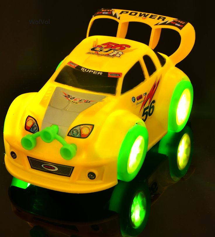 The WolVol Electric Car is built with high speed wheels and beautiful flashing LED lights. The WolVol Electric Car has a mind of its own; it will drive as if a human is driving it. This is a perfect Christmas gift for your child. #Wolvol #car