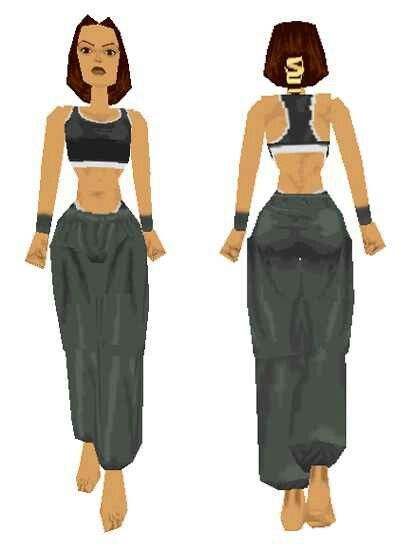 Manor Gym Outfit (Tomb Raider)
