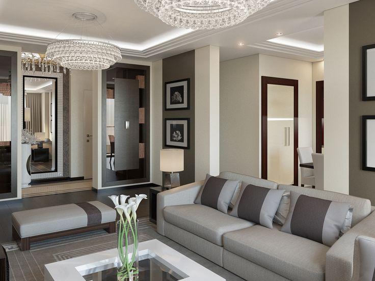 Проект   квартира в Москве (ЖК Весна). Общая площадь помещений 111 кв/