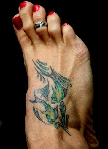 Tattoo Ideas for Zodiac Sign Pisces