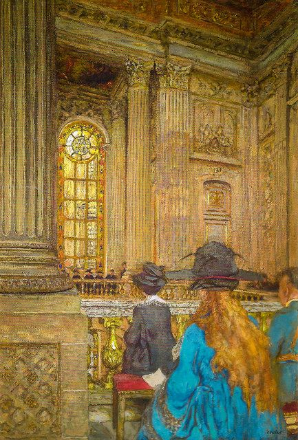 Edouard Vuillard - The Chapel at the Chateau of Versailles, 1919 at Musée d'Orsay Paris France