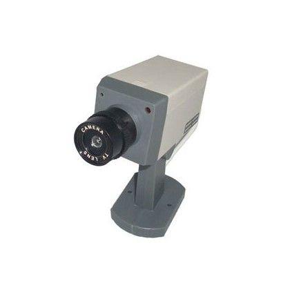 Caméra de sécurité factice motorisée ! http://www.rapid-cadeau.com/cadeau-jardin/42-camera-de-securite-factice-motorisee-avec-led.html