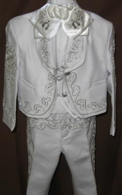 Charro white suite | Love Musica: Shop Musical Instruments - Children's Charro Outfits