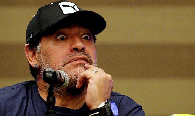 El polémico audio de Maradona al grupo de Whatsapp de los campeones del 86