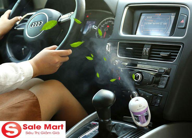 Máy phun sương tạo ẩm cho ô tô cao cấp giá rẻ sẽ cho không khí trong ô tô của bạn luôn luôn trong lành và không bị khô, máy tạo độ ẩm ô tô siêu bền