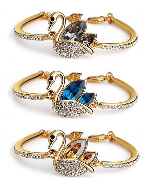 #SALE OFF KATGI Fashion #Austrian #Crystal Lovely #Swan #Pendant #Necklace or #Bracelet Price: $89.95 Deal price: $12.95 http://www.facebook.com/Buyers.Digest
