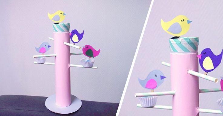 DIY mangeoire oiseaux