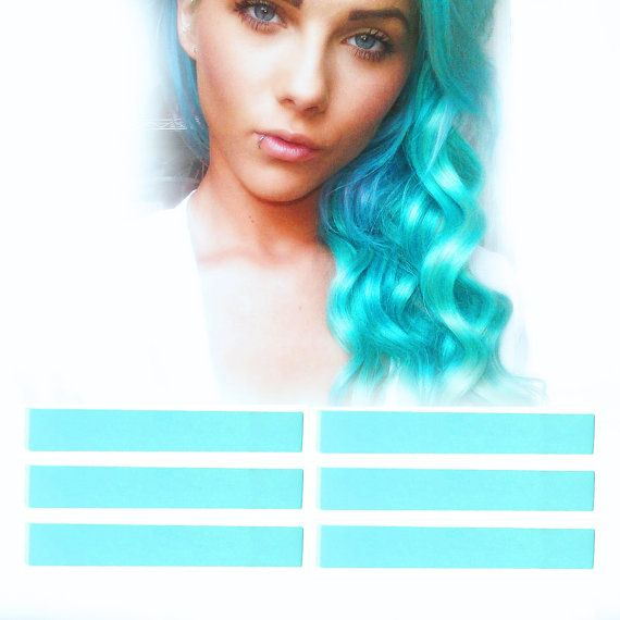 6 Best Temporary Turquoise Mint hair Dye for dark by PastelStrands