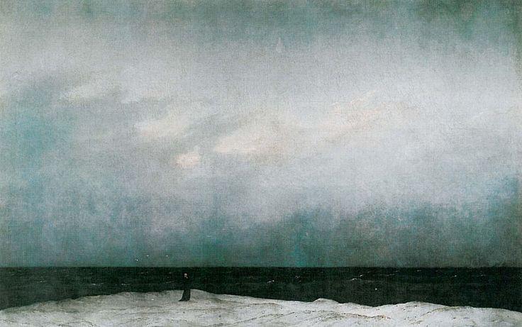 Der Moench am Meer (C D Friedrich) - Странник над морем тумана — Википедия