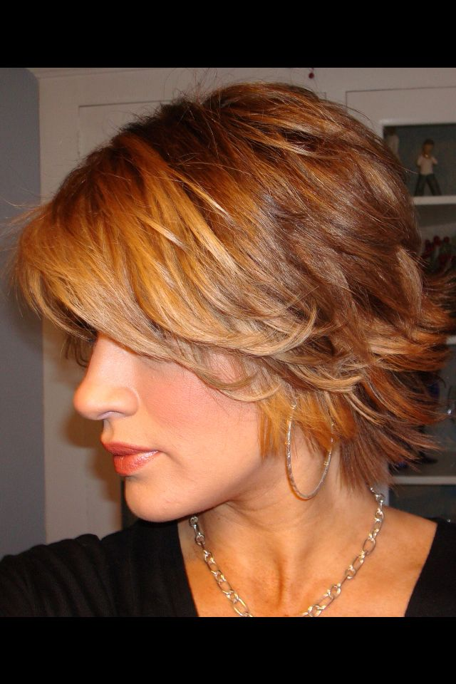 short haircut techniques easy flippy layers cuts if i again 6058 | 200691e36e0468e8abb1eb95edba2d27