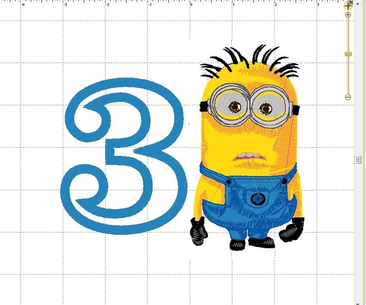 Minion SHIRT Despicable Me - Henchmen Disney Birthday Number # 3  - Any Character PERSONALIZED - Any Birthday Number (One Shirt or Onesie) by GumballsOnline on Etsy