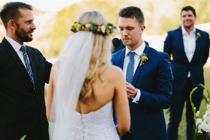 Benny Roff [MELBOURNE] Benny's approach to wedding ceremonies is both easy going and highly professional.