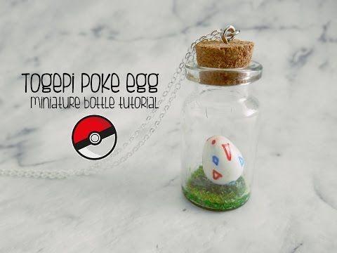 Bottle Charm Tutorial : Pokemon Togepi poke egg