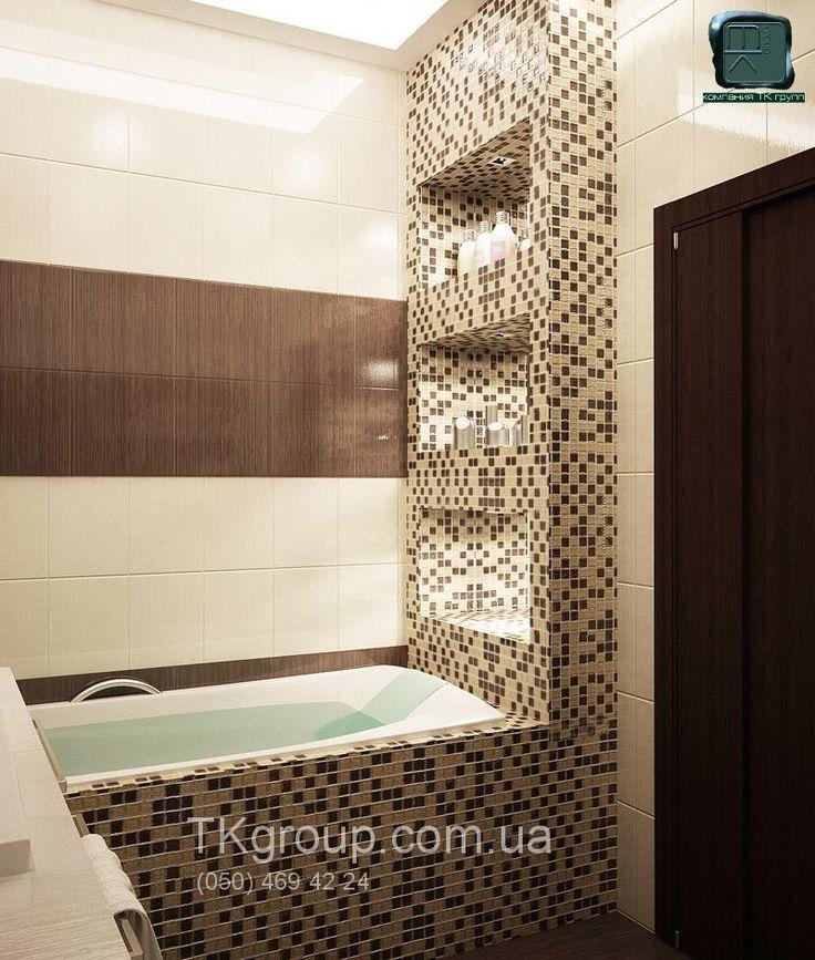 встроенные полки в ванной 3