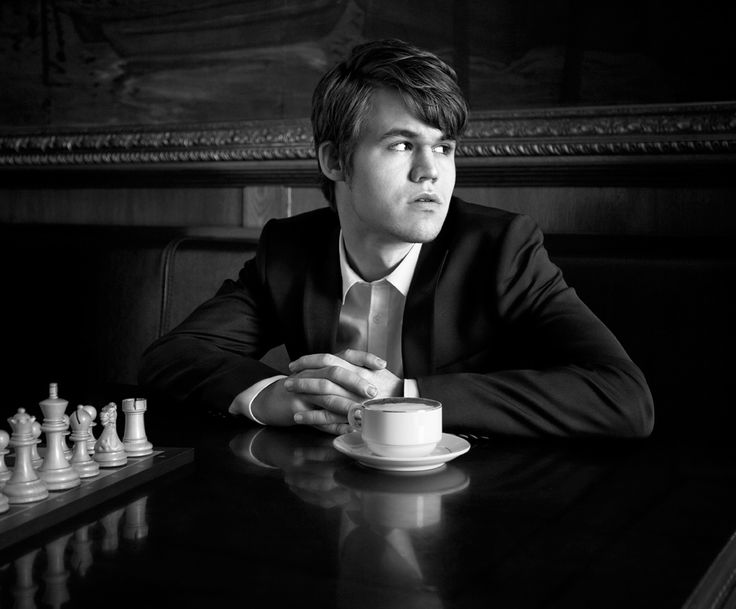 Magnus Carlsen ... currently the top ranked player in the world