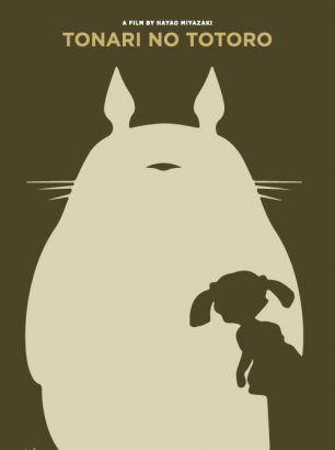 """Totoro"" - Størrelse: 70cm x 100cm / A3"