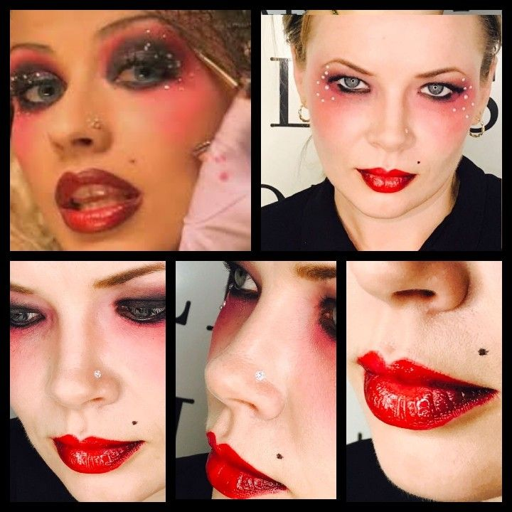 """Christina Aguilera """"Moulin  Rouge inspired video"""