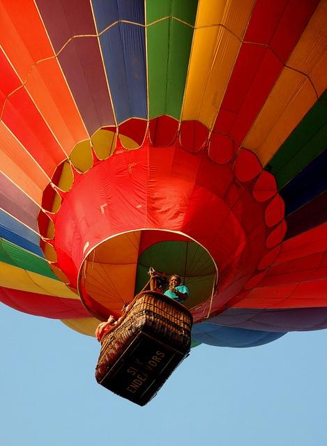 Balloon Festival - Readington,   New Jersey - a very big attraction - so many spectators.