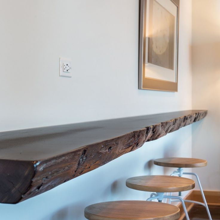 Natural Sood Beam Workplace In A Spirited Dwelling   Amy May Designs.  SeattleSeahawksLiving SpacesWorkplaceBeamsTo ...