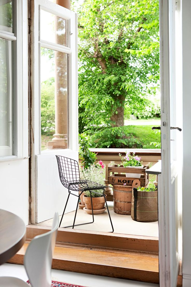 Jardin chaise design #deco #exterieur