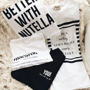 PÓLÓK 7990.- helyett CSAK 5990.- MA az @open_showroom-ban! #trasdesign #nutella #macaron #goleft #tshirt #black #white #christmas #budapest #fashion #hungarianashion #hungarian #designer #fashiondesigner #gift #winter