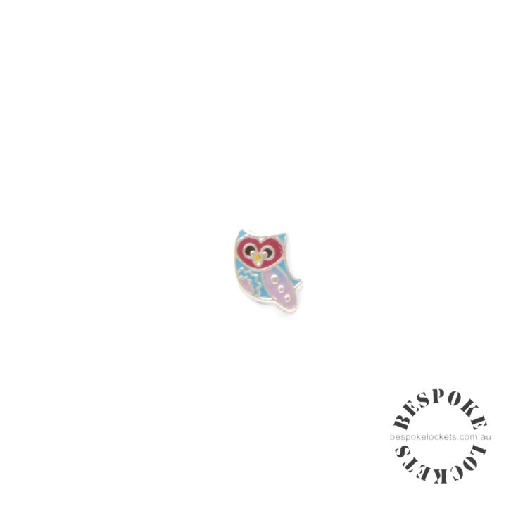 Red Faced Owl - Floating Charm